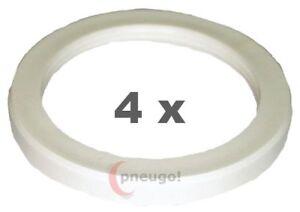 Pierścienie centrujące 4 Stück Zentrierringe Kunststoff 70.0mm auf 58.1mm schwarz