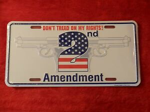Don-039-t-Tread-On-My-Rights-2nd-Amendment-Metal-Novelty-Plate-Sign