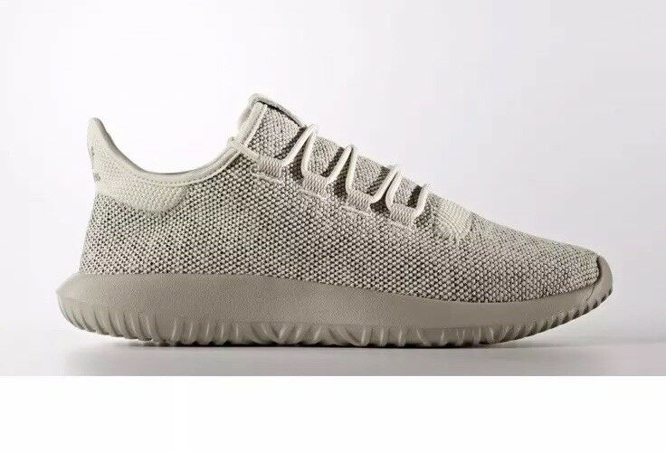 NEW Men's adidas Originals TUBULAR SHADOW Knit SHOES BB8824 Clear Brown SIZE 13