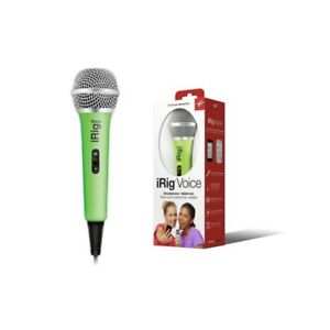 Irig-Voice-Microphone-Handheld-for-Systems-Android-and-Ios-for-Karaoke-Green