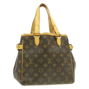 LOUIS-VUITTON-Monogram-Batignolles-Hand-Bag-M51156-LV-Auth-th659