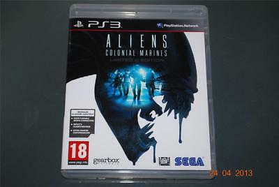Aliens Colonial Marines PS3 Playstation 3 **FREE UK POSTAGE**