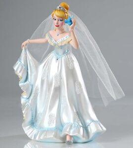 Image Is Loading Disney Cinderella Wedding Dress Figurine Couture De Force