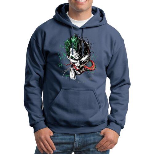 Venom Joker Halloween Horror  Mens Hoodies