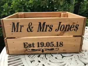 Personalised-Vintage-Shabby-Chic-Style-Wooden-Crate-Wedding-Card-Crate-Post-Box