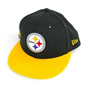 Pittsburgh-Steelers-NFL-Football-New-Era-Snapback-Hat-9FIFTY-Steel-City-NWOT