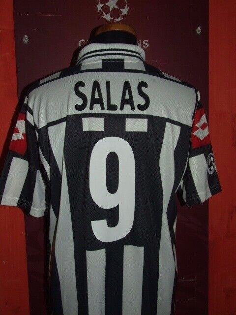 SALAS JUVENTUS 2001 2002 MAGLIA SHIRT CALCIO FOOTBALL JERSEY CAMISETA MAILLOT