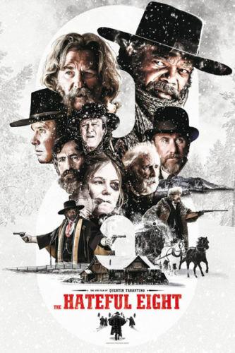W867 The Hateful Eight Quentin Tarantino Classic Movie 24x36/'/' Art Silk Poster