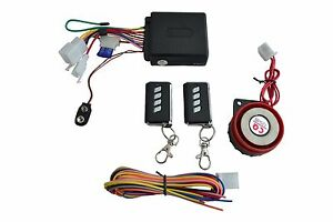 12V Compact Alarm System for Motorbike Trike Quad Scooter - Universal fit