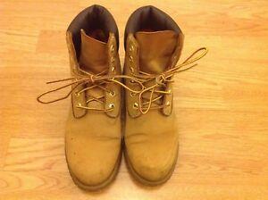 Size Wheat Mens Nubuck Buone Timberland Boots condizioni Tan Womens Unisex Uk 6 5 0xUAUX