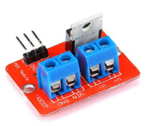 1pc 0-24V Top Mosfet Button IRF520 MOS Driver Module For MCU ARM Raspberry pi
