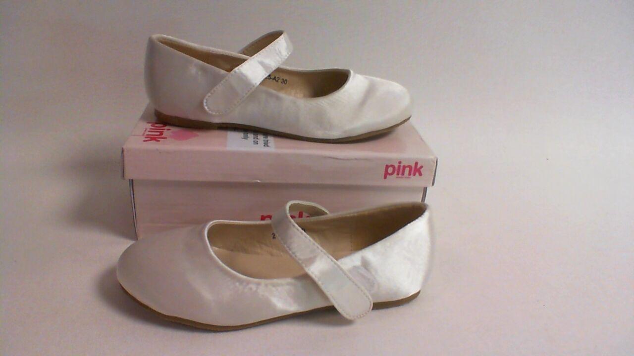 Pink by Paradox London- White Pump Shoes - Bambi - EU 27 UK Child 9 #40L84