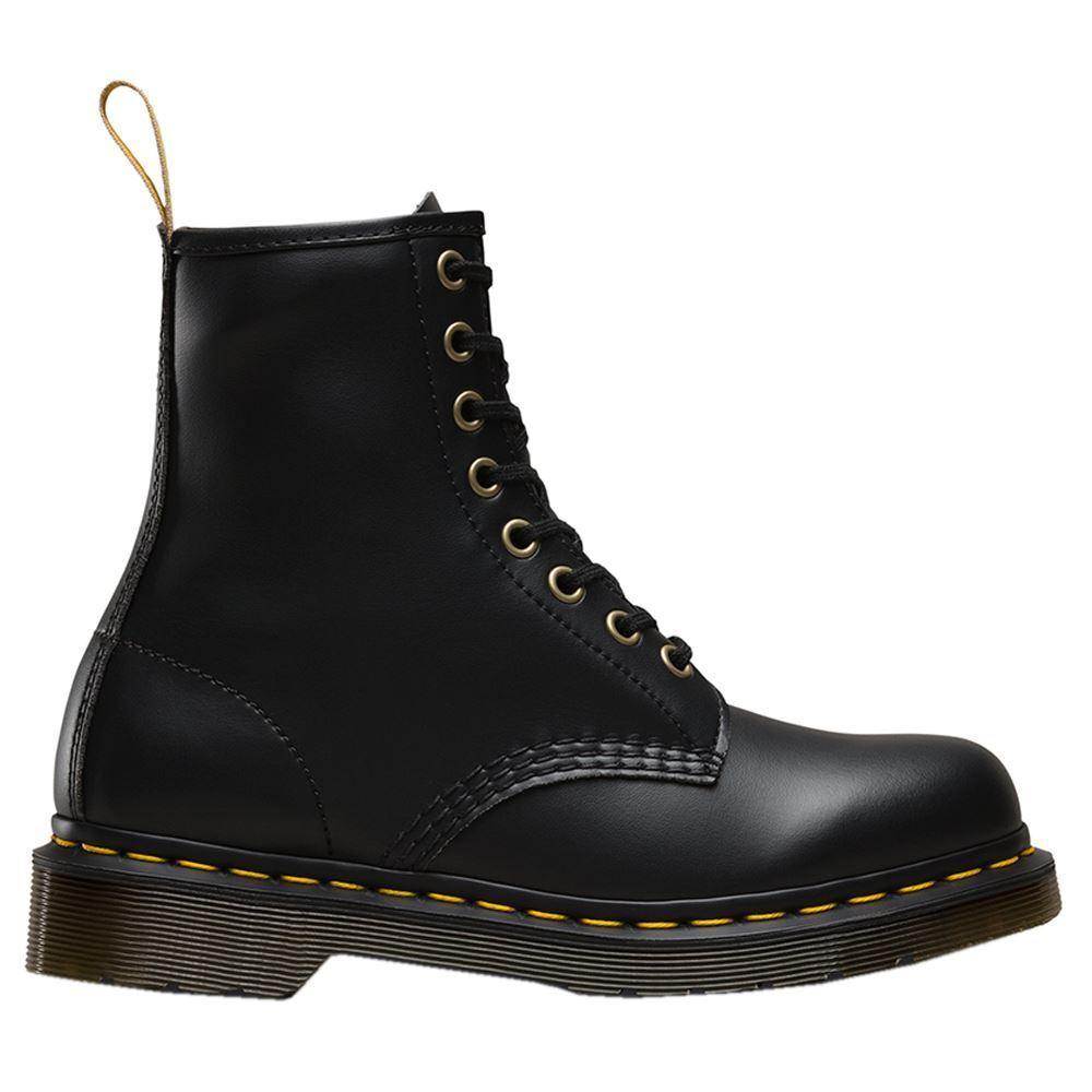 Dr.Martens Vegan 1460 Felix Rub Off Black Unisex Mens Womens Boots
