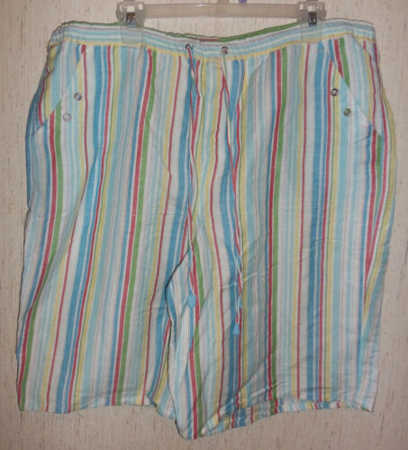Sherry 1x Nwot Multicolor Taylor Shorts Stripe Womens Taglia 0nPwp5qBg