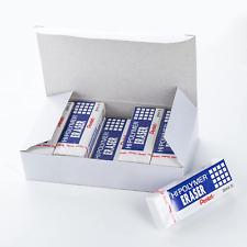 Pentel Hi Polymer Block Eraser Large White Pack Of 10