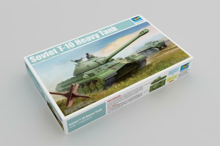 05545 Trumpeter 1 35 Model Soviet T-10 Heavy Tank Armored Car Plastic Kit DIY