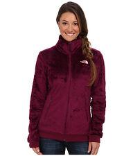 NEW The North Face SALE Women Mod Osito Fleece Full Zip Coat Jacket Purple XS