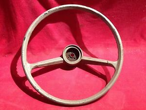 62 63 64 65 chevy ii nova steering wheel ebay. Black Bedroom Furniture Sets. Home Design Ideas