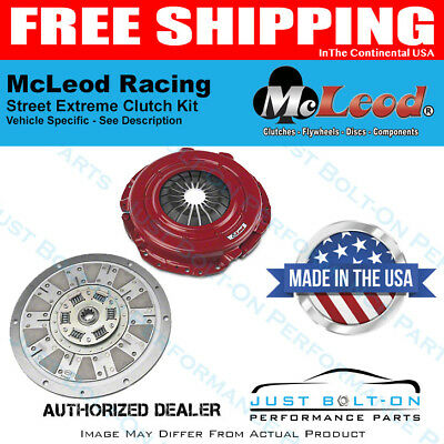 McLeod Racing 75304 Spline Street Extreme 99-04 Ford Mustang 4.6L 11 X 1-1//16 X 10