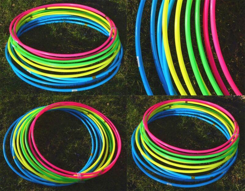 Adult Kids Plain Hula Hoop Hoops Fitness Activity workout Durable Plastic Fun