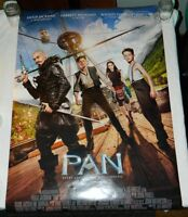 "27"" x 40"" Double-Sided Movie Theater Poster PAN (2015) Hugh Jackman, Levi Miller"