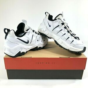 Nike-Air-Perish-Mens-9-5-Walking-Shoes-White-New-Old-Stock-90s-Vintage