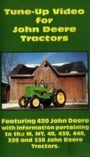John Deere Tractor 420 M Mt 40 430 440 320 330 Tune Up Service Shop Dvd