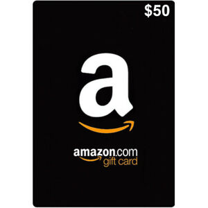 Picture of a $50 amazon gift card