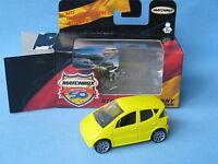 Matchbox Mercedes-Benz A Class Yellow Body Toy Model Car 60mm German Boxed