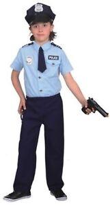 Polizist Polizei Police Cop FBI CIA Kostüm Uniform Anzug Mütze Hut Junge Kinder
