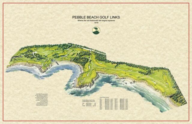 Pebble Beach Golf Links Jack Neville 1918 Vintage Golf Course Maps on golf map huntsville alabama, golf framed art prints, golf courses by 89014, kaanapali golf map, phuket golf map, golf leagues, golf scorecard, michigan golf map, golf courses in sw ireland, golf courses by zip code, golf island map, orlando golf map, residential map, golf entry form, golf program, golf resort map, golf courses poconos pa, golf hole, golf courses most interesting, golf playa grande dominican republic,