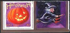 France 2001 Halloween Greetings/Pumpkin/Witch/Magic//Animation 1v + lbl  n37367n