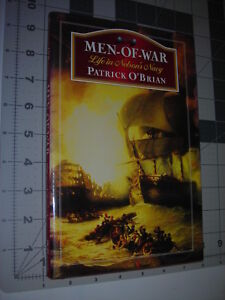 MEN-OF-WAR-Life-in-Admiral-Nelson-039-s-Navy-Patrick-O-039-Brian-1995-HC-DJ-1st-Edition