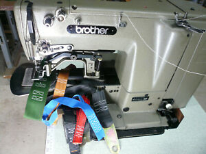 INDUSTRIAL BROTHER LOCK STITCH  PATTERN  TACKING SEWING MACHINE. JAPAN MADE