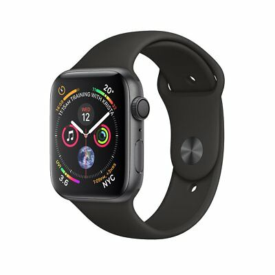 Nuevo Apple Watch Series 4 40mm Aluminio Case Sport Gris espacial y Negra+Gift