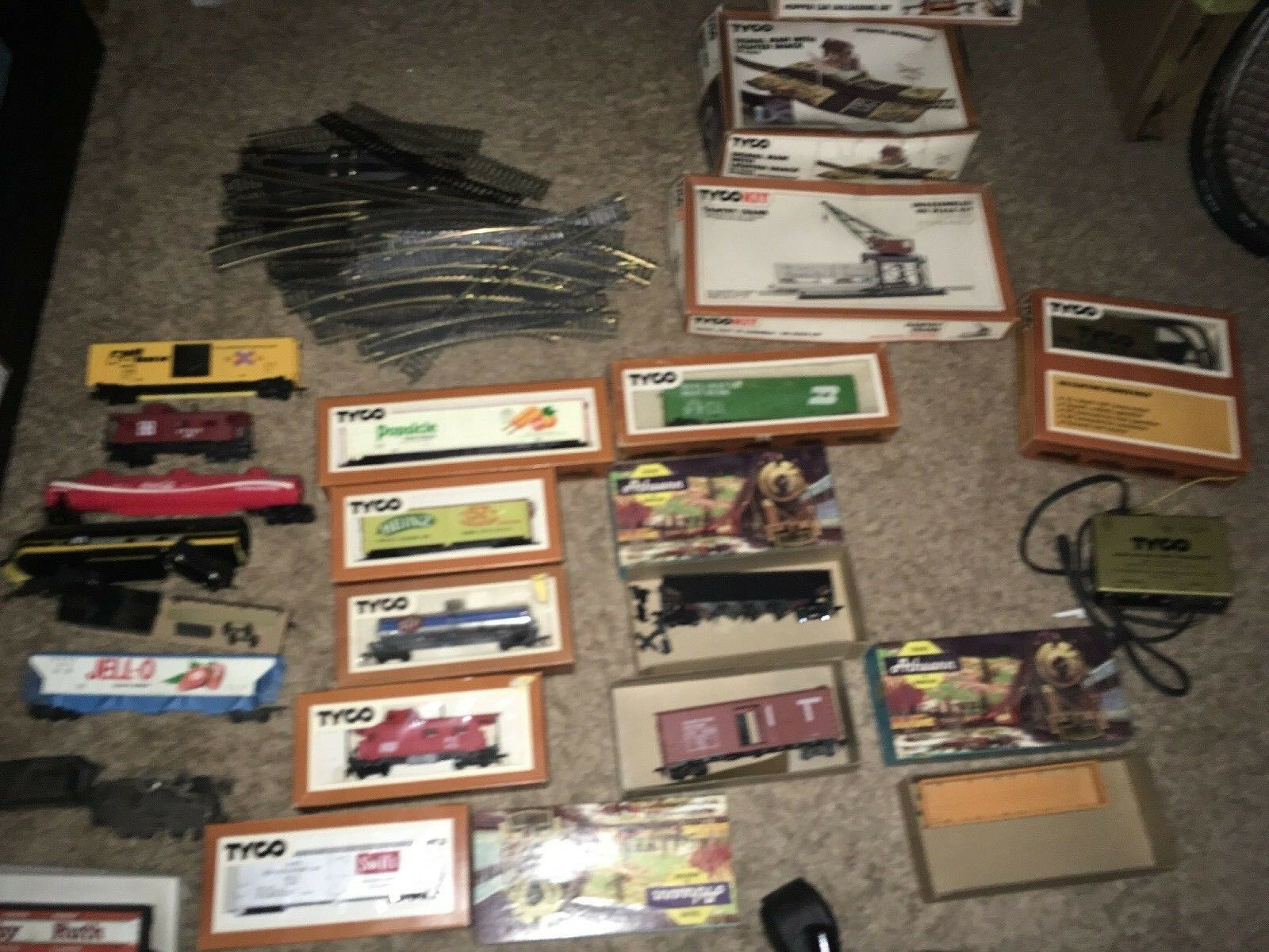 Lot Tyco Athearn Vtg HO Scale Trains Lot 1970's Vintage