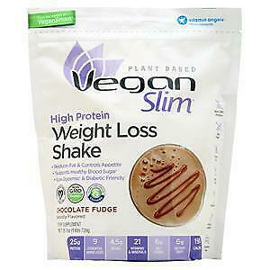 Naturade Vegan Slim High Protein Weight Loss Shake Chocolate 1.6 lbs