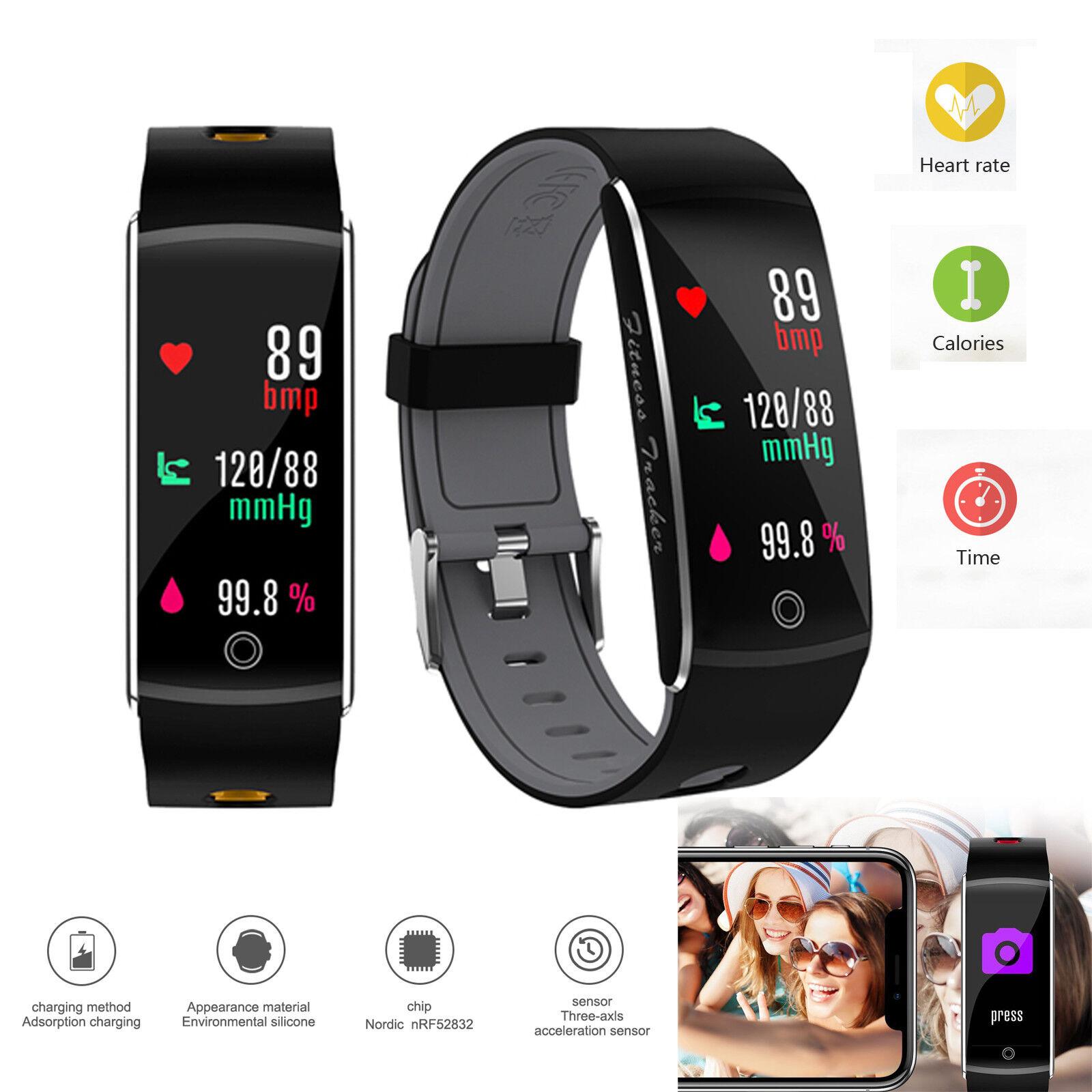 Activity Tracker Sports Bracelet Bluetooth WristBand Heart Rate Sleep Monitor activity bluetooth bracelet Featured heart monitor rate sleep sports tracker wristband