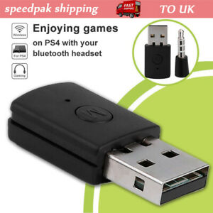Wireless-Bluetooth-USB-Adapter-Dongle-4-0-Receiver-for-PS4-Headphone-Microphone