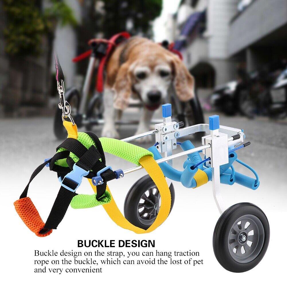 Para con discapacidad PerrosGato sillas de ruedas para Mascota Ruedas