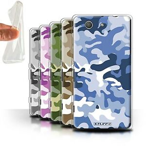 STUFF4-Gel-TPU-Case-Cover-for-Sony-Xperia-Z3-Compact-Camouflage-Army-Navy