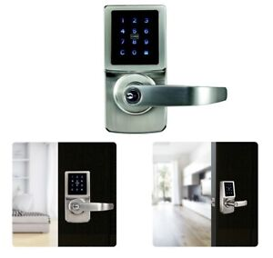 Carbine Electronic Touch Screen door Lock LEVER SET keyless entry access control