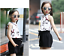 short Tenues 2pcs Kids Baby Girls Korean Fashion Casual Costume sans manches chemisier