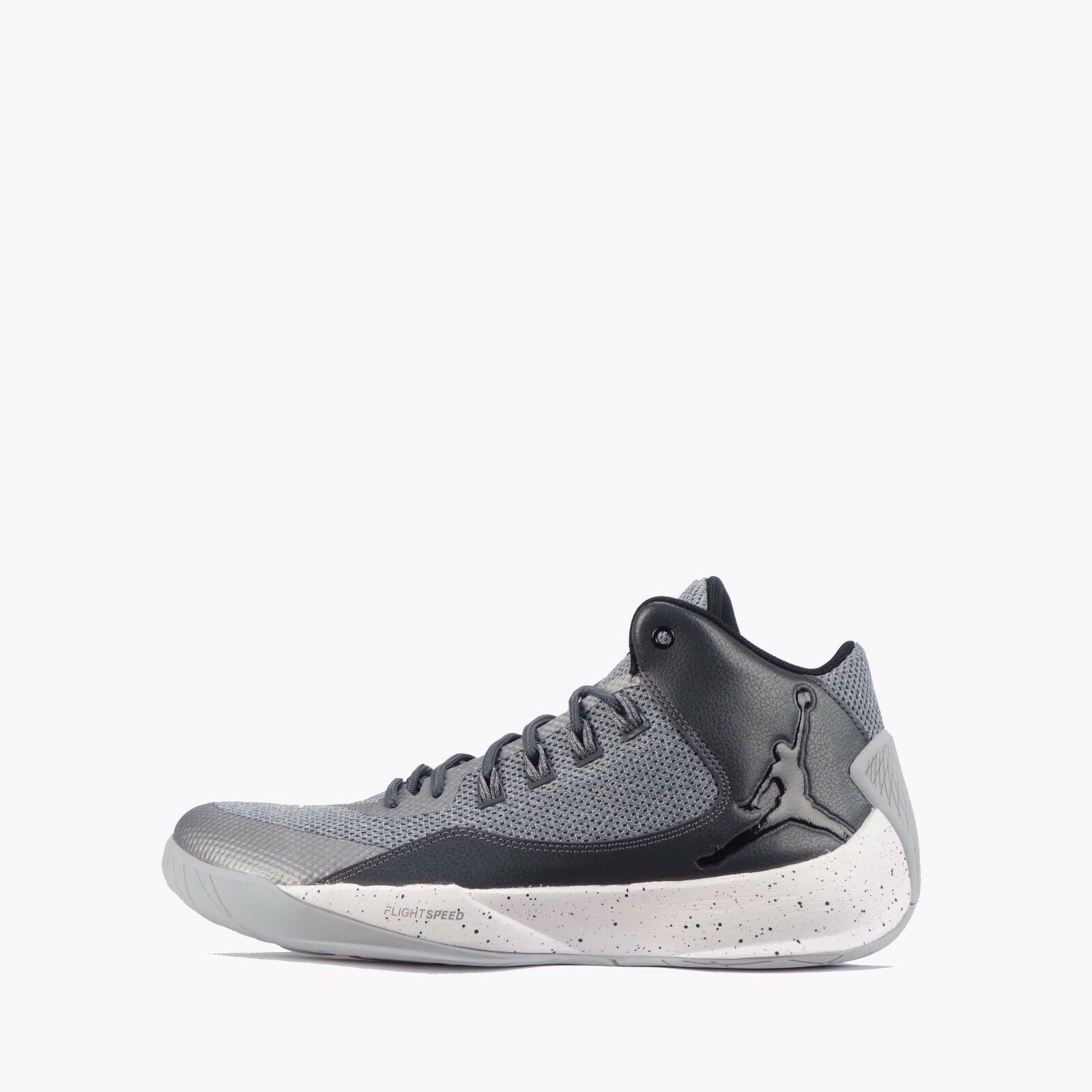 Nike Jordan Rising High 2 Men's shoes Wolf Grey Black
