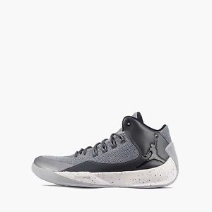 Jordan Nike 2 Rising Uomo Grigio Lupo Scarpe Nero High 5dwx1qIdz