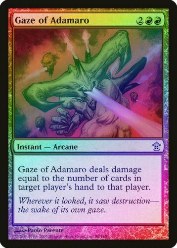 Gaze of Adamaro FOIL Saviors of Kamigawa NM Red Uncommon MAGIC CARD ABUGames