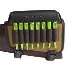 Tourbon Rifle Ammo Holder Bullet Pouch Cheek Rest Pad Buttstock Gun Left Handed