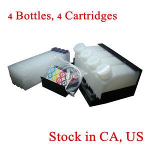 Details about USA Stock-- Roland Mimaki Bulk Ink System--4 Bottles, 4  Cartridges