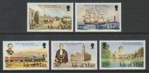 Isle-von-Mann-1984-William-Cain-Set-MNH-Sg-274-8