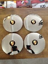 SET OF 4 PORSCHE 356C AND PORSCHE 911/912 FLAT HUBCAPS WITH CENTRE CAPS *NEW